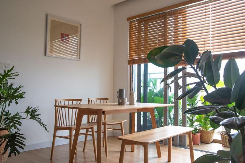 Căn hộ với đồ nội thất được làm hoàn toàn từ gỗ tự nhiên