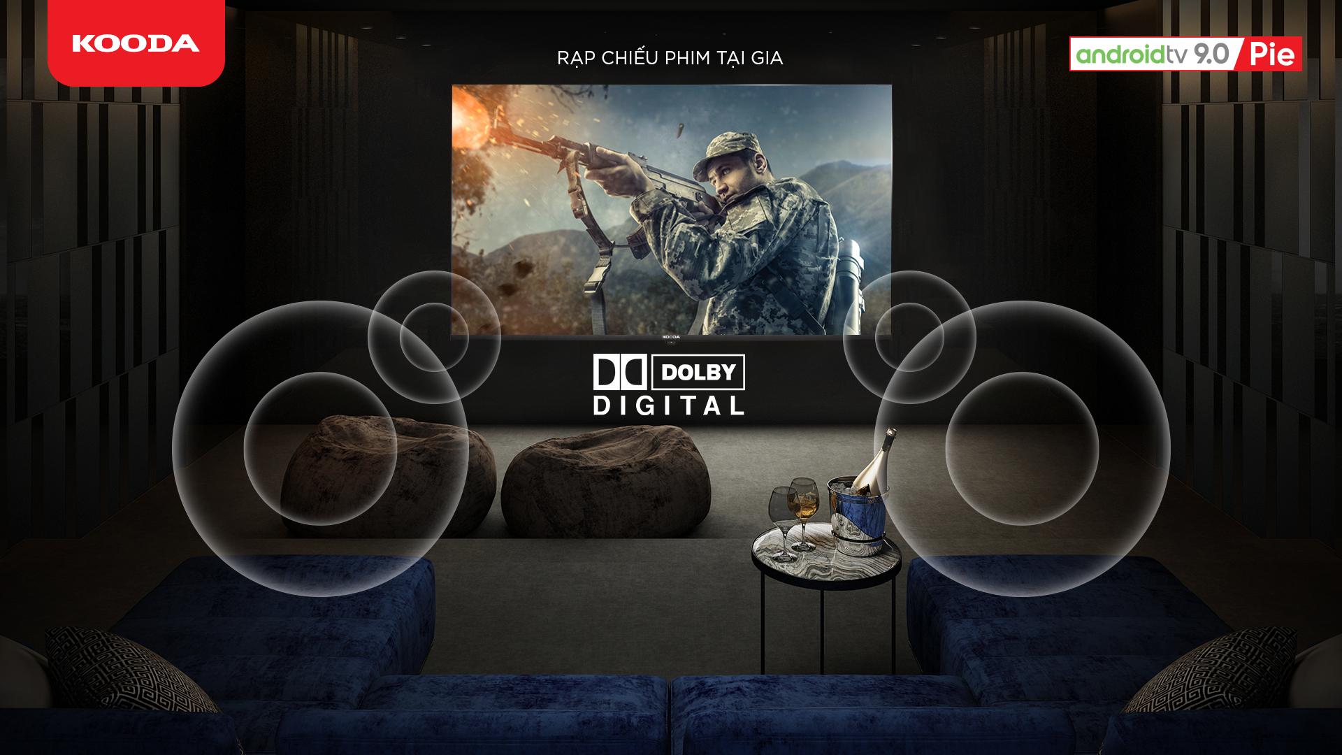 KOODA ra mắt Smart TV với thiết kế viền siêu mỏng, Android TV bản quyền và nhiều tính năng thông minh