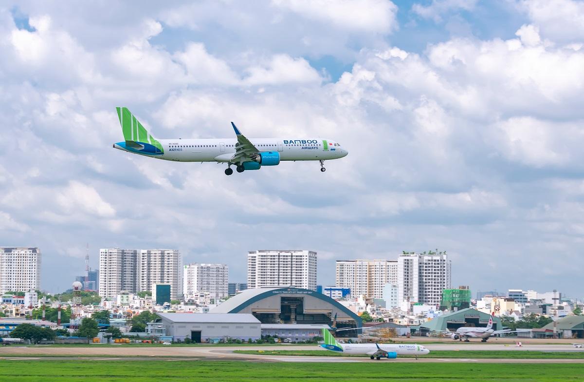 Bamboo Airways giữ vững vị trí hãng bay đúng giờ nhất, ít chậm hủy chuyến nhất 5 tháng đầu năm