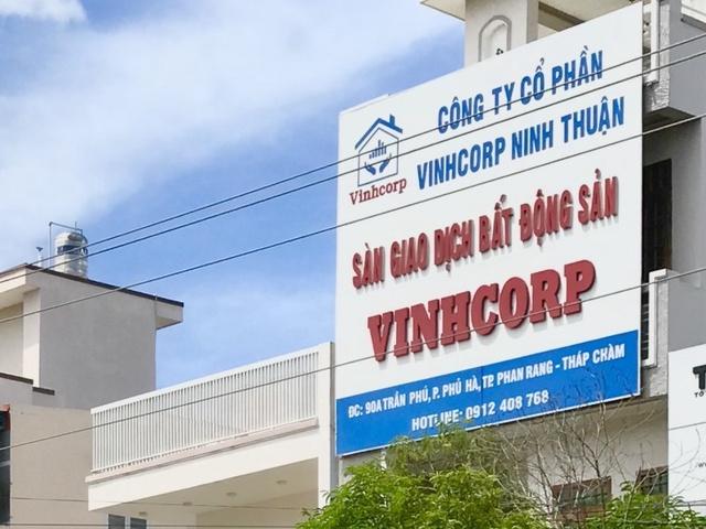 """Rao bán đất phân lô bán nền trái phép, Vinhcorp Ninh Thuận bị """"tuýt còi"""""""