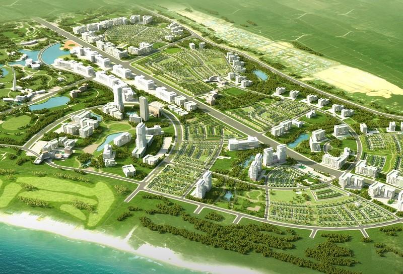 Xây khu đô thị xanh rộng 45ha ở Bình Định