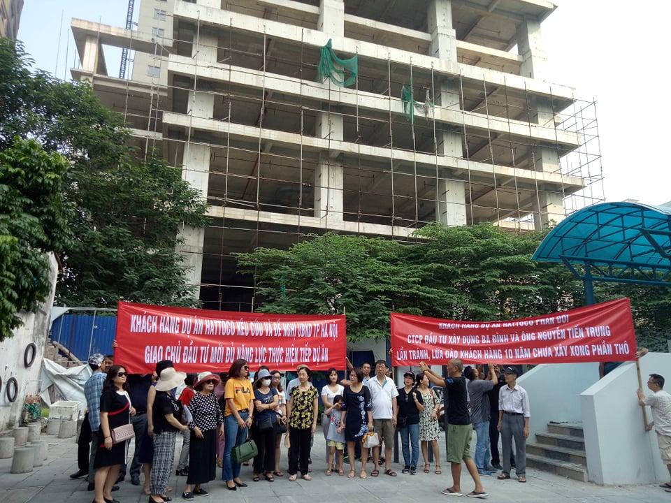 Lỡ hẹn giao nhà đã 10 năm, Hà Nội lệnh xử nghiêm chủ đầu tư Hattoco