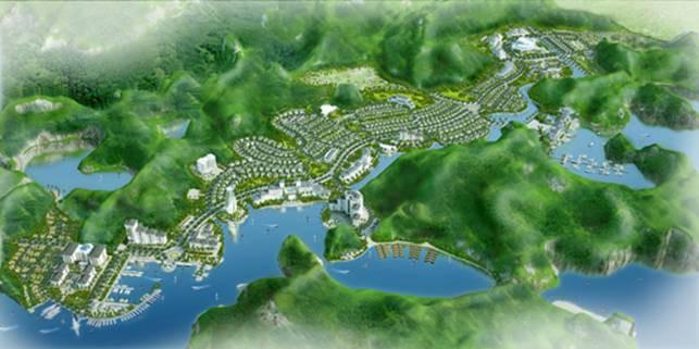 """Vinaconex muốn huy động 2.200 tỷ cho """"siêu dự án"""" 172ha ở Cát Bà"""