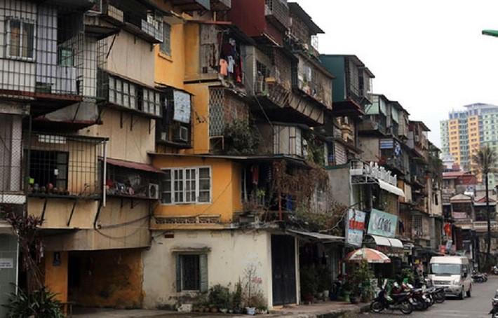 Hà Nội dành 500 tỷ đồng kiểm định lại chất lượng toàn bộ chung cư cũ