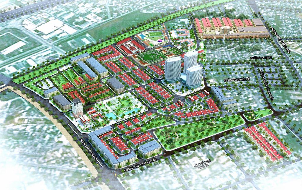 Thanh Hóa lập khu đô thị rộng 67,5 ha ở huyện Quảng Xương